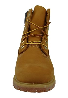 Timberland Ladies Boots 6 Inch Premium Boot C10361 Leather Wheat Yellow Gold Brown – Bild 5