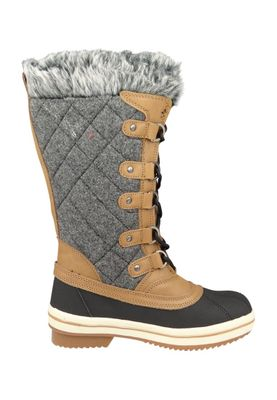 Lackner Womens Winter Boots Winter Boots 7312 ROMY Ls TX Gray Brown Gray Brown – Bild 3