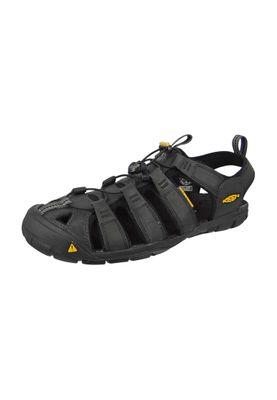 KEEN Herren Sandale Wassersportsandale Trekkingsandale CLEARWATER Magnet/Black Grau/Schwarz - 1013107 – Bild 1