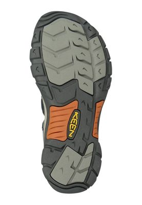 KEEN Herren Sandale Trekkingsandale NEWPORT H2 India Ink/Rust Grau - 1001931 – Bild 2