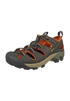 KEEN Men's Hybrid Hiker Trekking Sandals ARROYO II Black Olive Bombay Brown Brown - 1008419 – Bild 1
