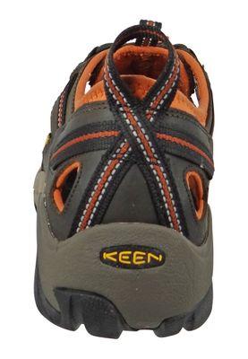 KEEN Herren Hybrid-Hiker Trekkingsandale ARROYO II Black Olive Bombay Brown Braun - 1008419 – Bild 4