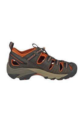KEEN Men's Hybrid Hiker Trekking Sandals ARROYO II Black Olive Bombay Brown Brown - 1008419 – Bild 5