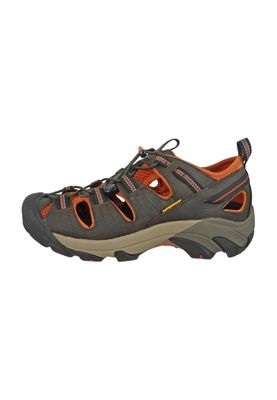 KEEN Men's Hybrid Hiker Trekking Sandals ARROYO II Black Olive Bombay Brown Brown - 1008419 – Bild 6