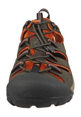 KEEN Men's Hybrid Hiker Trekking Sandals ARROYO II Black Olive Bombay Brown Brown - 1008419 – Bild 7