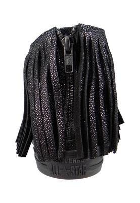 Converse Chucks Sting Ray Leather Fringe 553331C Franzen Schwarz Black  – Bild 6