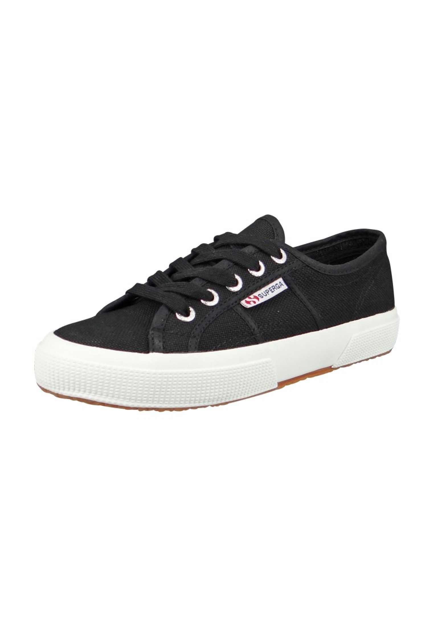 new arrival 2ad37 5da5b Superga Schuhe Sneaker 2750 COTU Classic Schwarz Black White