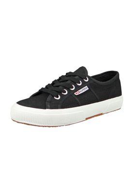 Superga Schuhe Sneaker 2750 COTU Classic Schwarz Black White – Bild 1