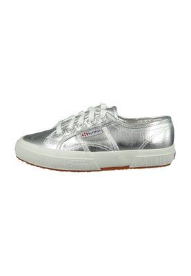 Superga Schuhe Sneaker 2750 Coton Metallic Classic Silver Silber – Bild 6