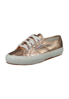 Superga Schuhe Sneaker 2750 Coton Metallic Classic Rose Gold – Bild 1