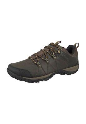 Columbia Herren Outdoor Trekkingschuh Hikingschuh WOODBURN 2 VENTURE WATERPROOF Cordovan Squash Braun BM3992-231 – Bild 1