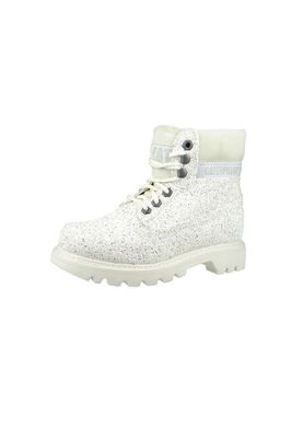 CAT Caterpillar Schuhe Colorado White Glitzer Canvas Weiss P308890 – Bild 1