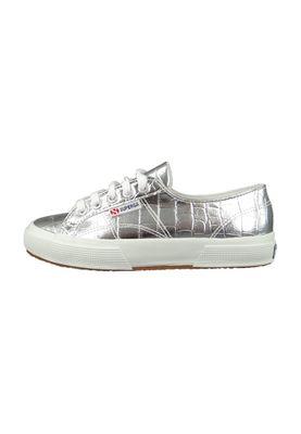 Superga Schuhe Sneaker 2750 METCROCW Metallic Silver Silber – Bild 6