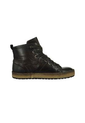 Mjus Herren - Sneaker 309201-0101-0001 Cacao Braun Bil Echtleder – Bild 5