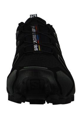 Salomon Schuhe Speedcross 4 Laufschuhe 383130 Trail Schwarz Black Black Metallic – Bild 6