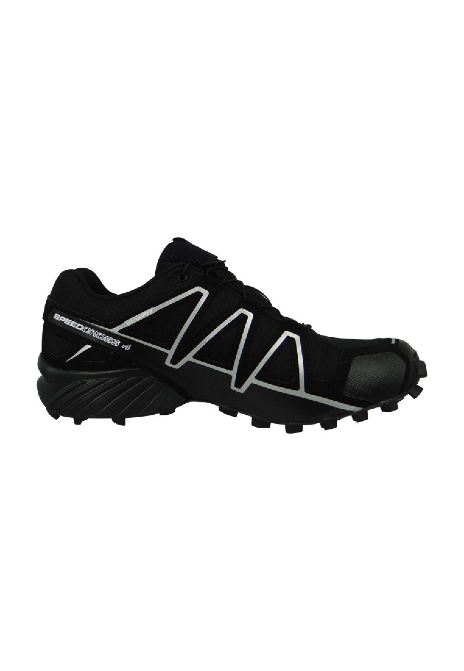 Salomon Schuhe Speedcross 4 GTX Laufschuhe 383181 Trail Schwarz Black Black Metallic