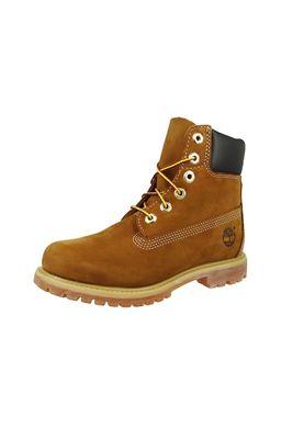 Timberland Damen Stiefel 6 Inch Premium Boot C10360 Leder Rust Brown Braun – Bild 1