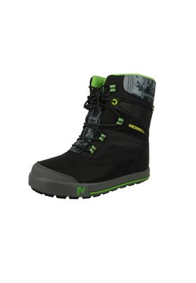 Merrell Kids Kinderstiefel Snow Bank 2.0 Waterproof Black Grey Green Schwarz Grau Grün MC55597 – Bild 1