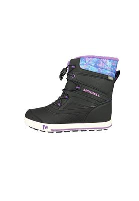 Merrell Kids Kinderstiefel Snow Bank 2.0 Waterproof Black Print Berry Schwarz MC56089 – Bild 3