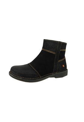 Art Leder Stiefelette Ankle Boot Bergen Black Schwarz 0849 – Bild 1