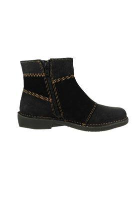 Art Leder Stiefelette Ankle Boot Bergen Black Schwarz 0849 – Bild 4