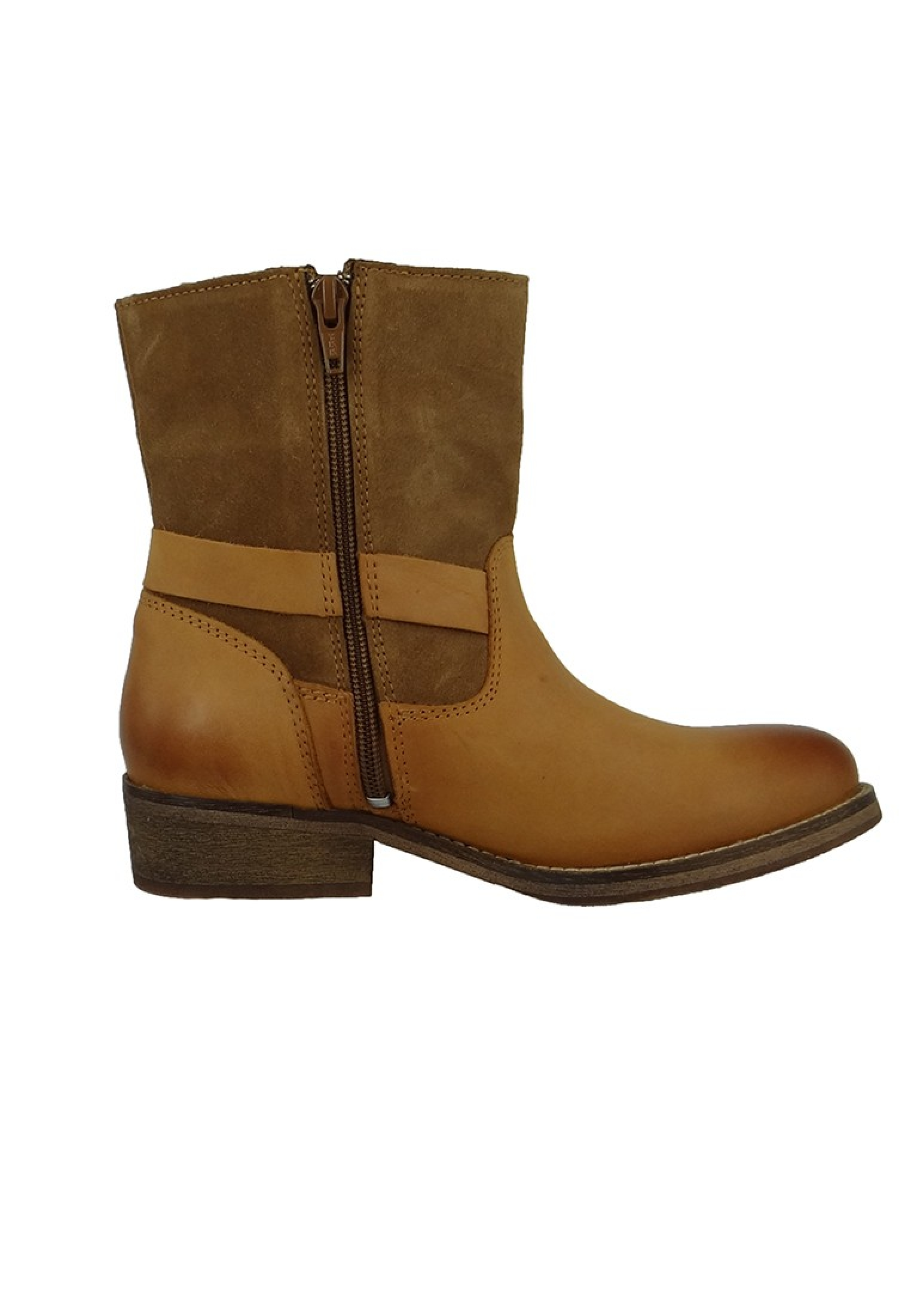 Stiefelette Western-Syle Cognac bfkS5nd