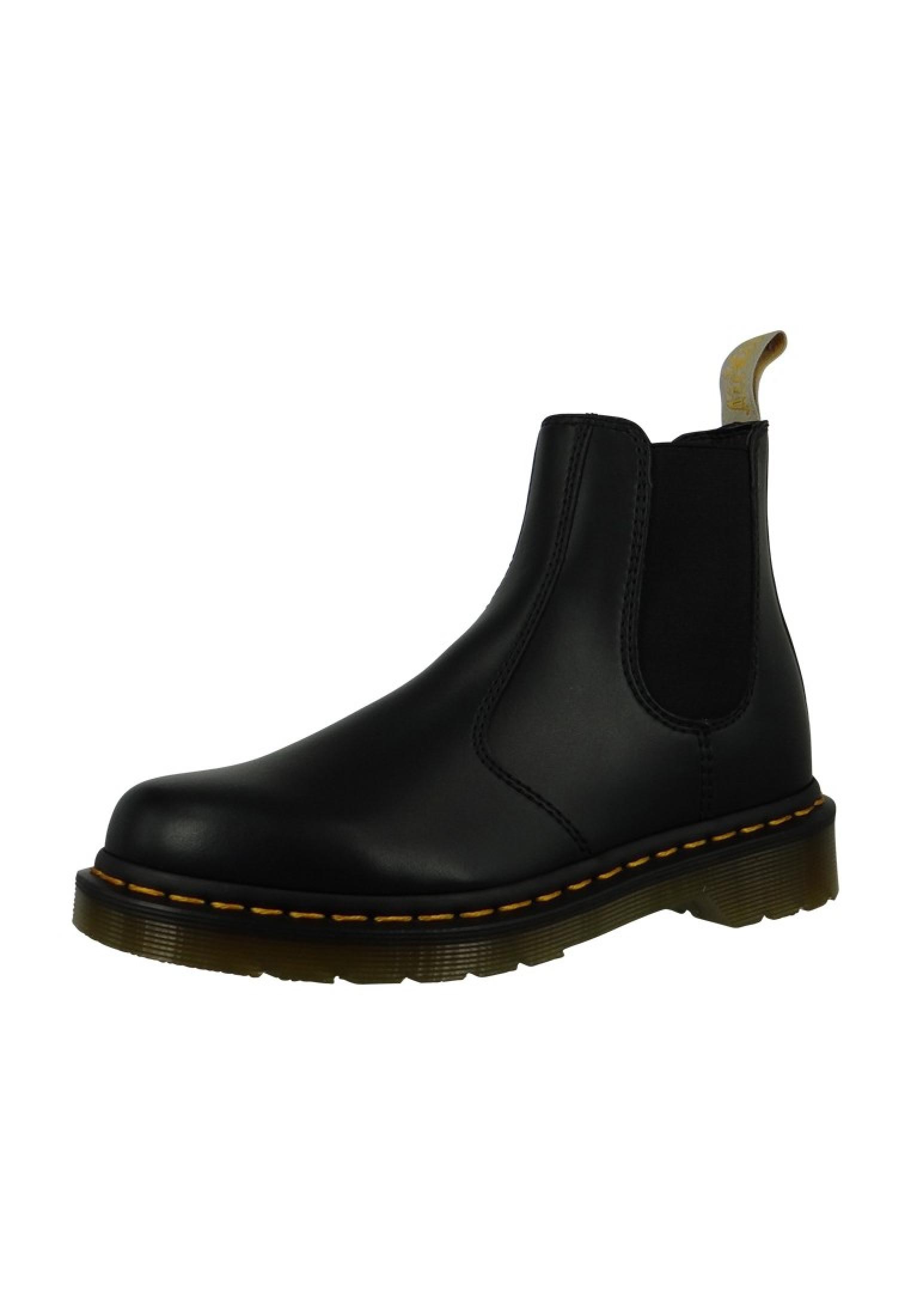 8787a53e06d4da Dr. Martens 2976 21456001 Damen Black Felix Rub Off Schwarz Vegan Chelsea  Boot