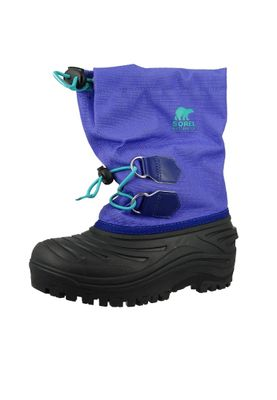 Sorel Kinder Winterstiefel Youth NY1887-551 SUPER TROOPER Purple Arrow Reef Lila – Bild 1