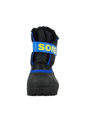 Sorel Kinder Winterstiefel SNOW COMMANDER Gefüttert NC1877-011 Black Super Blue Schwarz Blau – Bild 3