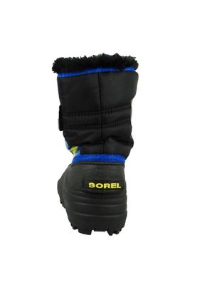 Sorel Kinder Winterstiefel SNOW COMMANDER Gefüttert NC1877-011 Black Super Blue Schwarz Blau – Bild 5