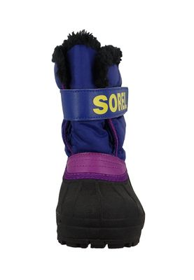 Sorel Kinder Winterstiefel SNOW COMMANDER Gefüttert NC1877-484 Grape Juice Bright Plum Lila – Bild 5