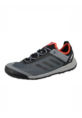 adidas Herren Outdoor Multifunktionsschuhe TERREX SWIFT SOLO vista grey s15/core black/energy s17 Grau - BB1992 – Bild 1