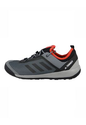 adidas Herren Outdoor Multifunktionsschuhe TERREX SWIFT SOLO vista grey s15/core black/energy s17 Grau - BB1992 – Bild 2