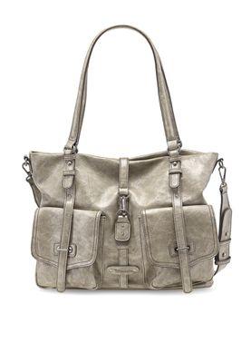 Tamaris Tasche Bernadette Shopping Bag Schultertasche Quartz Comb. Beige