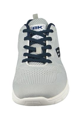 British Knights BK Sneaker B39-3610 Energy B-Knit Lt. Grey Navy Grau – Bild 5