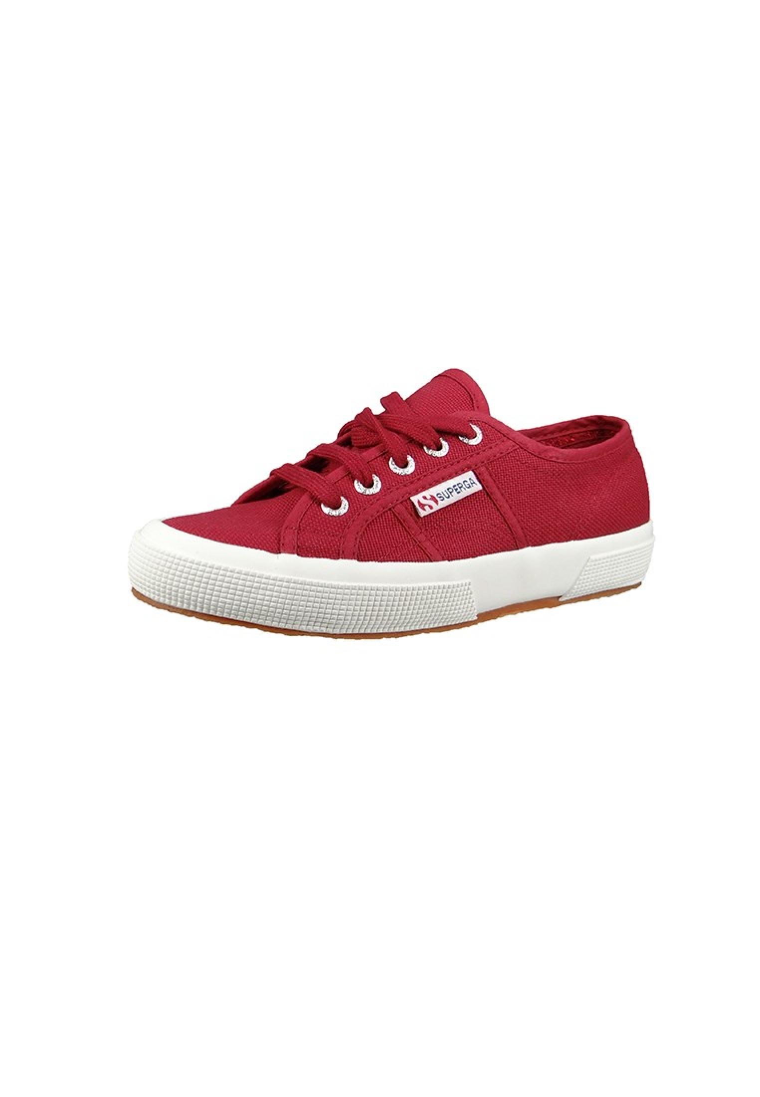 Sneaker Bordeaux 2750 Rot Scarlet Superga Schuhe Classic Cotu KlF1J3Tc