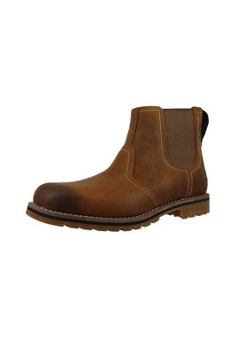 Timberland Men's Chelsea Boot CA13HZ Larchmont Chelsea Oakwood FG with Suede Brown – Bild 1