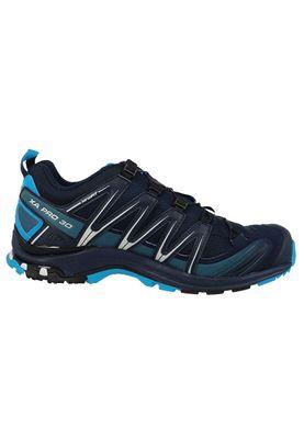 Salomon Shoes XA Pro 3D GTX Gore Tex 393320 Blue Navy Blazer Havaiian Ocean Dawn Blue – Bild 3