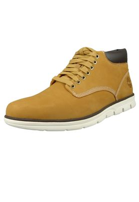 Timberland Mens Lace Up Bradstreet Chukka Boots Wheat Nubuck Yellow A1989 – Bild 1