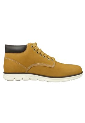 Timberland Mens Lace Up Bradstreet Chukka Boots Wheat Nubuck Yellow A1989 – Bild 4