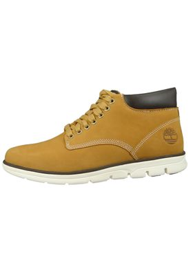 Timberland Mens Lace Up Bradstreet Chukka Boots Wheat Nubuck Yellow A1989 – Bild 5