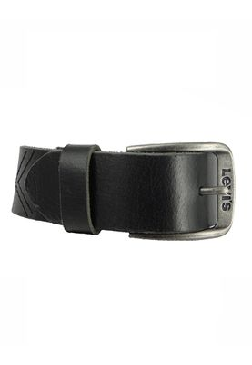 Levis Belt Leather Belt Classic Top Alturas Logo Black Black 223850-59 – Bild 4