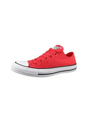 Converse Chucks 155445C Chuck Taylor All Star Perf Ripstop OX Ultra Red White Black Rot – Bild 1