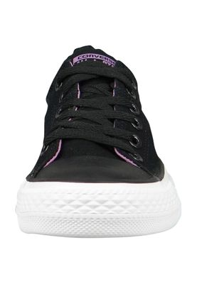 Converse Chucks 555908C CT All Star Madison OX Black White Fuchsia Glow Schwarz – Bild 4
