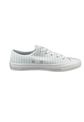 Converse Chucks 555877C Chuck Taylor All Star Gemma Knit OX - Porpoise White Mouse Blue – Bild 5