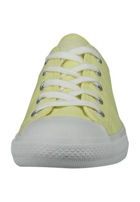 Converse Chucks 555890C Gelb Chuck Taylor All Star Dainty Perforated Stripe Canvas OX Lemon Haze White White – Bild 3