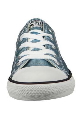 Converse Chucks 555906C Blau Chuck Taylor All Star Dainty OX Blue Coast Black White – Bild 6