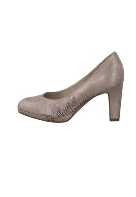 Tamaris Plateau Pumps Rose Gold mit TOUCH-IT Sohle 1-22420-28 579 Rose Structure – Bild 4