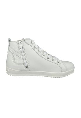 Tamaris Leder Sneaker High mit TOUCH-IT Sohle Weiß 1-25215-28 100 White – Bild 4