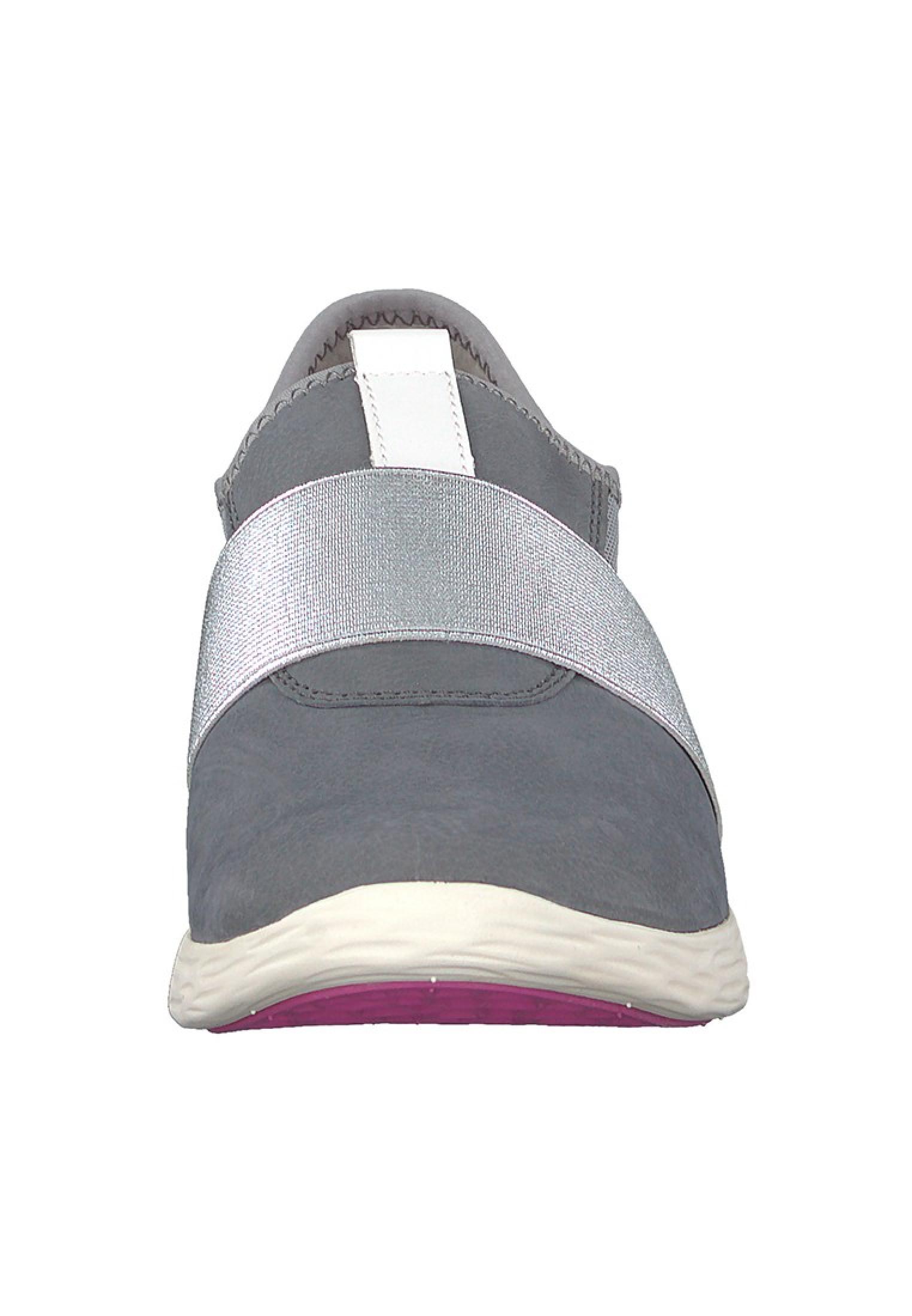 Tamaris Sneaker Grau mit YOGA IT Sohle 1 24729 28 206 Steel Comb